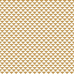 Little gold and white triangles
