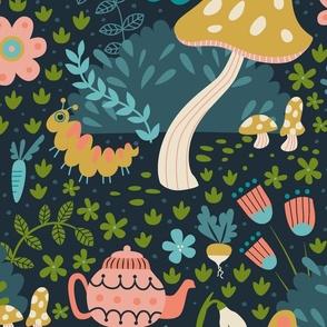 Wandering in Wonderland - Large