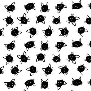 Scattered Black Cats - small scale