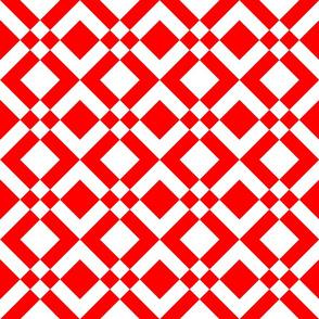 Arrowhead Red White