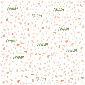 Friday Terrazzo pattern - small scale