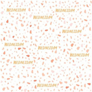 Wednesday Terrazzo pattern - small scale