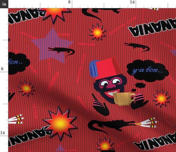 Fabric by the Yard graffitis_banania