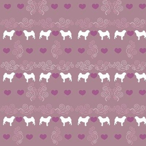 romantic pug love - updated