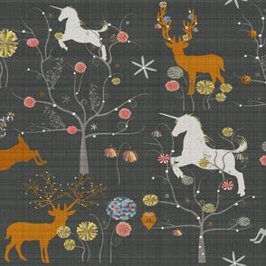 Unicorn Flower Forest