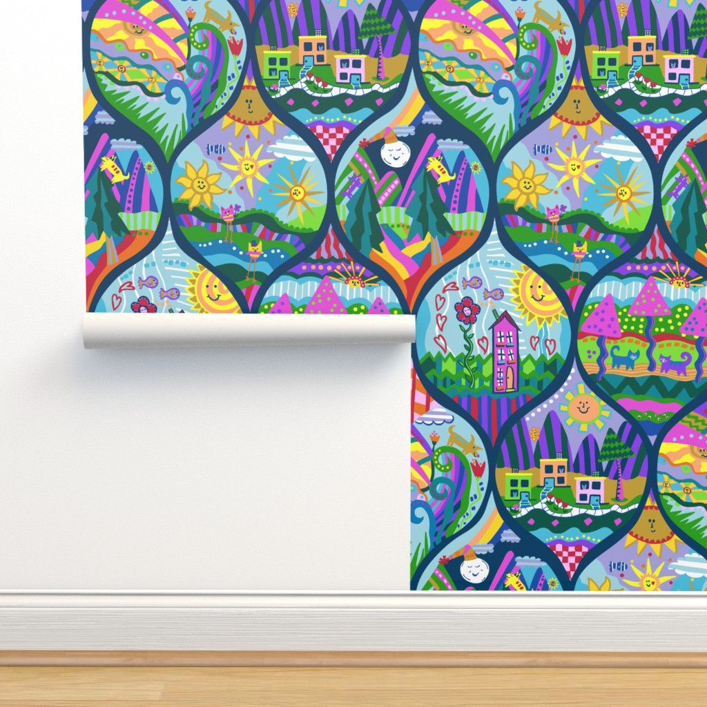 Isobar Durable Wallpaper featuring the land of 13 suns by lalalamonique by lalalamonique