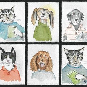 Cats Dogs And Books
