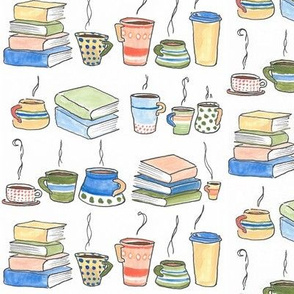 Hot Beverages And Books