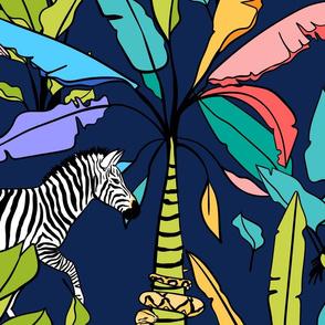 African Tropical Whimsical Wonderland