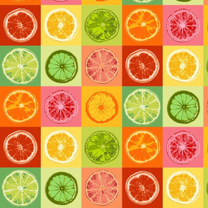 Pop Art Citrus