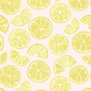 Lemon Slices light pink