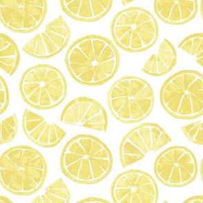 Lemon Slices white