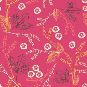 Pink botanic