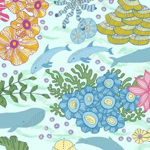 Ocean Imagined, Wallpaper