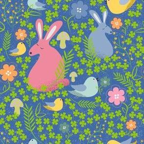 Shy bunny