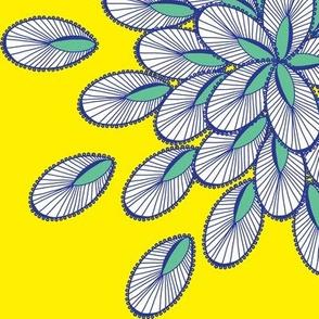 ILY - Yellow & blue