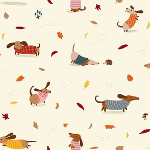 Dachshund Sweater Weather (small scale)