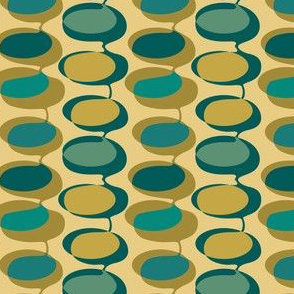 Bead curtain - 1970s camouflage
