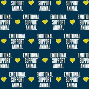 Emotional Support Animal Blue