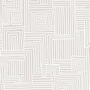 Mudcloth maze stripes minimal Scandinavian grid trend abstract geometric labyrinth neutral sand beige