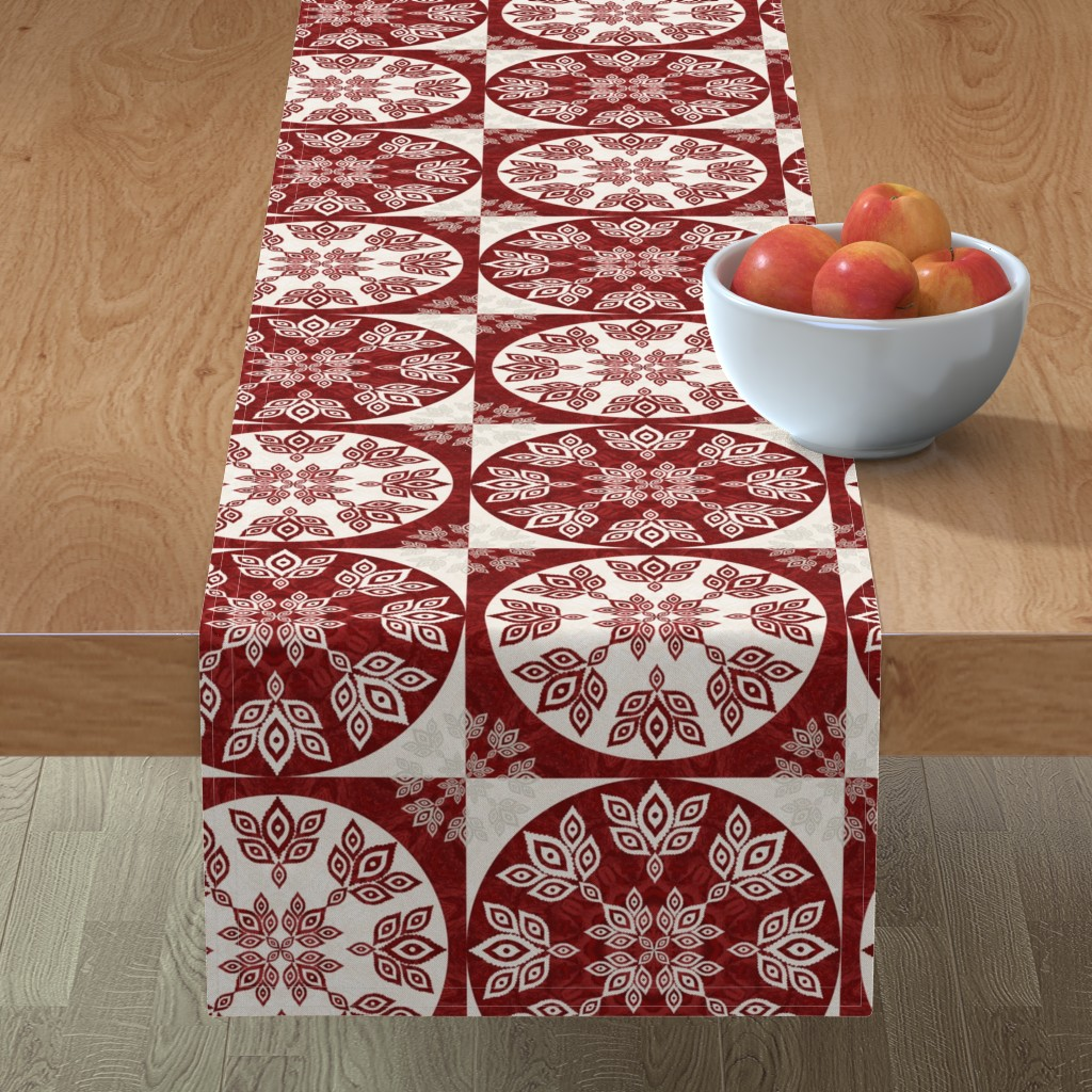Minorca Table Runner featuring P192019 Christmas by ndn-design
