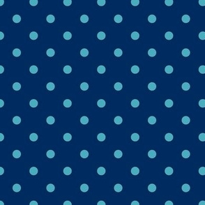 Prunella Dots - Blue