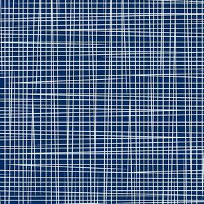 Prunella Lines - Blue White