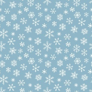Snowflake pattern (Small Scale)