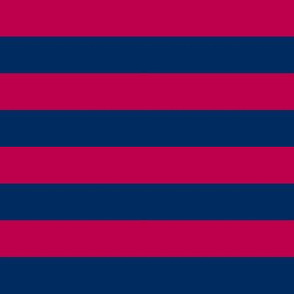 Prunella Pink Blue Stripes