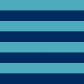 Prunella Blue Stripes