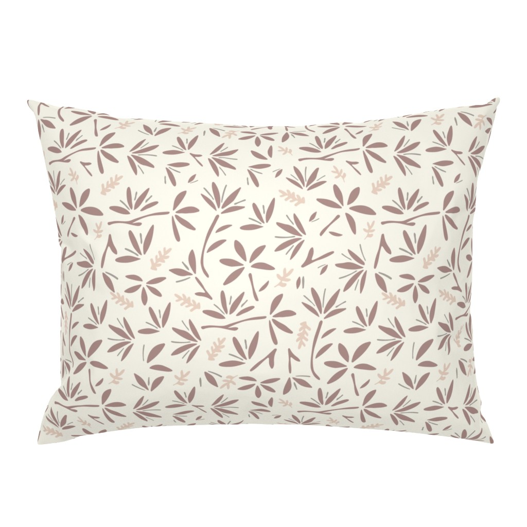 Campine Pillow Sham featuring Serenity Floral by jillianhelvey
