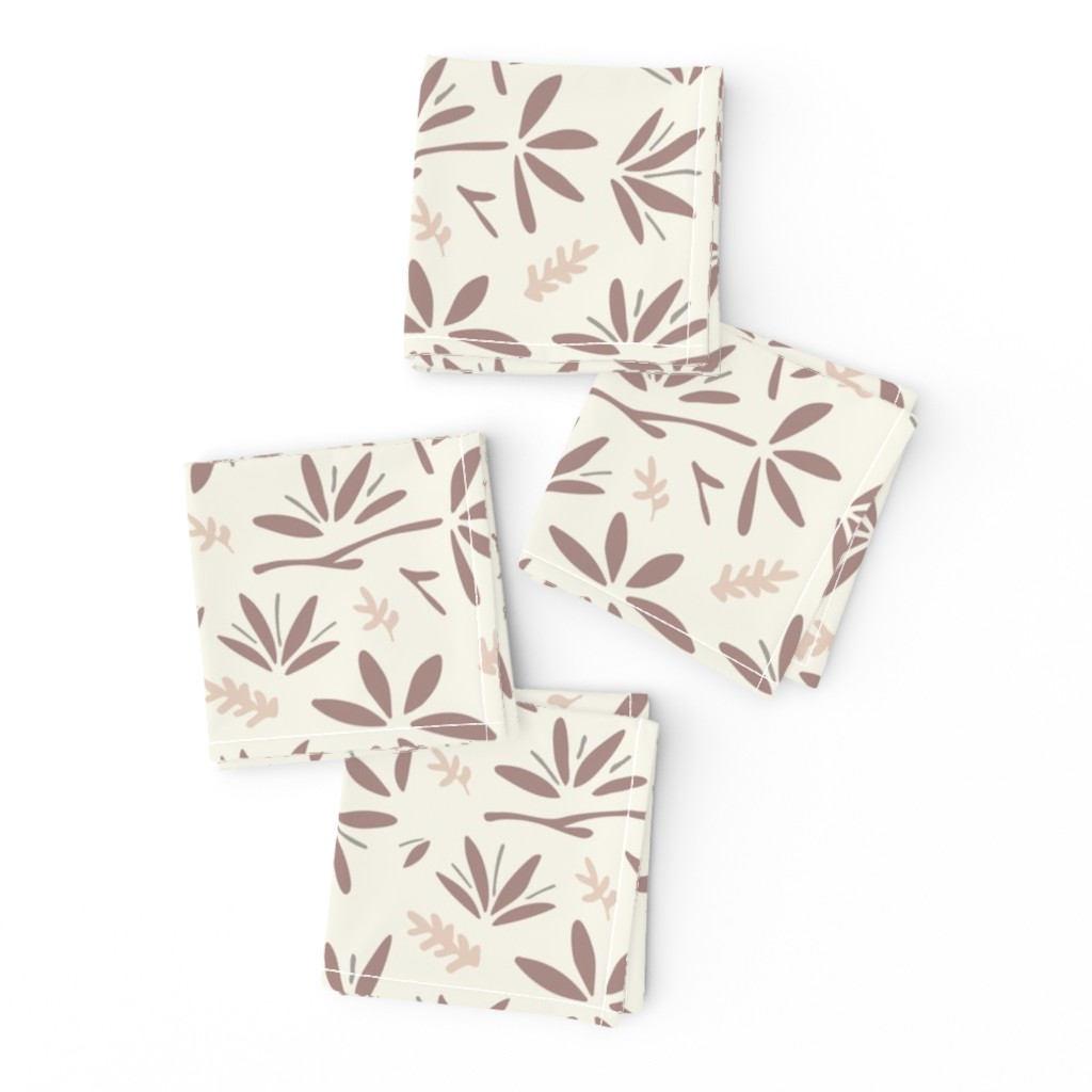 Frizzle Cocktail Napkins featuring Serenity Floral by jillianhelvey