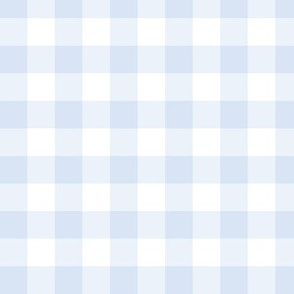 Chambray Blue Gingham: Small Check