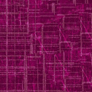 19-15j Solid Berry Pink Magenta Distressed Grunge Quilt blender