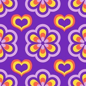 Flower Power Mosaic Amethyst