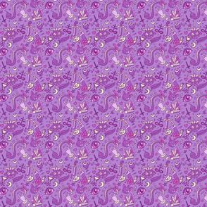 Medium Cute Occult in Purple