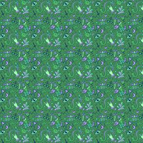 Medium Cute Occult in Green