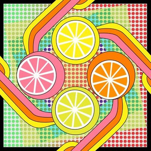 Juice it up! Pop art citrus