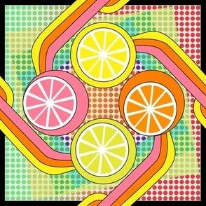 Juice it up! Pop art citrus