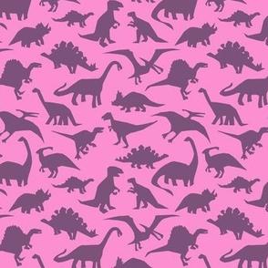 Dinosaurs Camo Pink