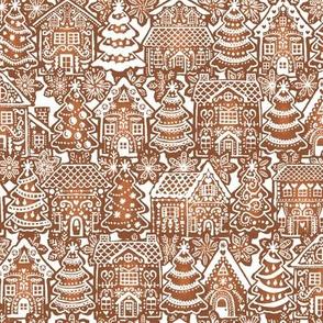 Holiday Gingerbread Neighborhood- Small Scale