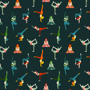 Soul Sisters Yoga Flow Modern 70s Design