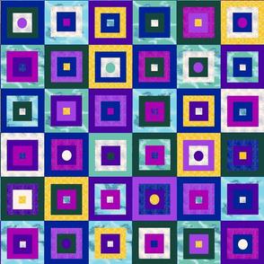 Jewel Tone Granny Squares