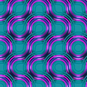 jewel tones - retro vibes