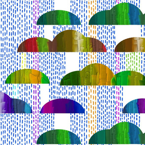 Jewel-tone taco rainclouds by Su_G_©SuSchaefer