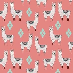 Retro Llamas