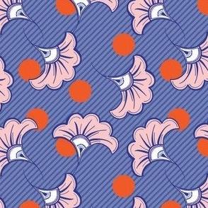 JUN - Purple & orange