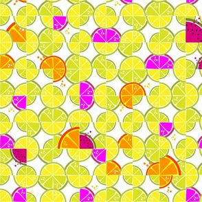 lemony fresh summer tiles