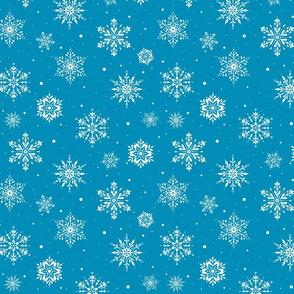 Christmas Folk Snowflakes2 iceblue-SM