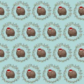 Christmas Wombats